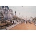 Affiche Exposition Universelle de Paris 1900
