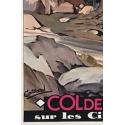 Affiche ancienne de Corse - Signature de Cassard