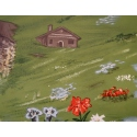 vintage travel poster of La Clusaz, France, from 1947 - view 3