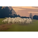 Affiche ancienne Le Mont Saint Michel -1920 - Signée par Constant Duval - Vue 3