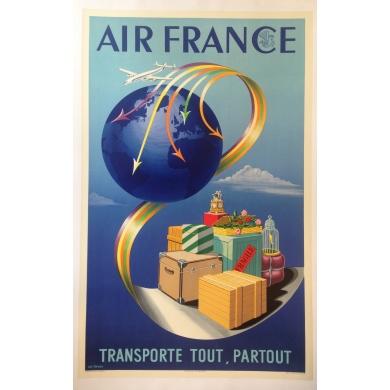 AIR FRANCE tranporte tout, partout