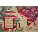 Vintage poster from Lucien Boucher published by the Association pour l'Indochine Française 1946 - 39.9 x 26 inches - View 4