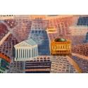 Affiche ancienne de Raoul Dufy : Le Printemps en France - 1950 - 100 x 63 cm - Vue 4