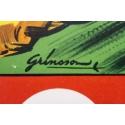 Affiche ancienne de publicité pour les spectacles du cirque Pinder La piste aux étoiles - Grinsson - 1960 - 45.5 x 64 cm - Vue 4