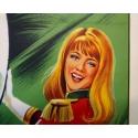 Affiche ancienne de publicité pour les spectacles du cirque Pinder La piste aux étoiles - Grinsson - 1960 - 45.5 x 64 cm - Vue 3