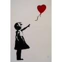 D'après Banksy 194/600 - Sérigraphie contemporaine - 49 par 66 cm - Vue 2