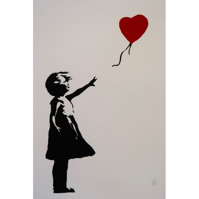 D'après Banksy - contemporary silkscreen - 19.3 by 26 inches - View 2