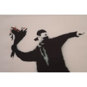 D'après Banksy 27/150 - Contemporary silkscreen printing - 19.6 by 26 inches - View 3