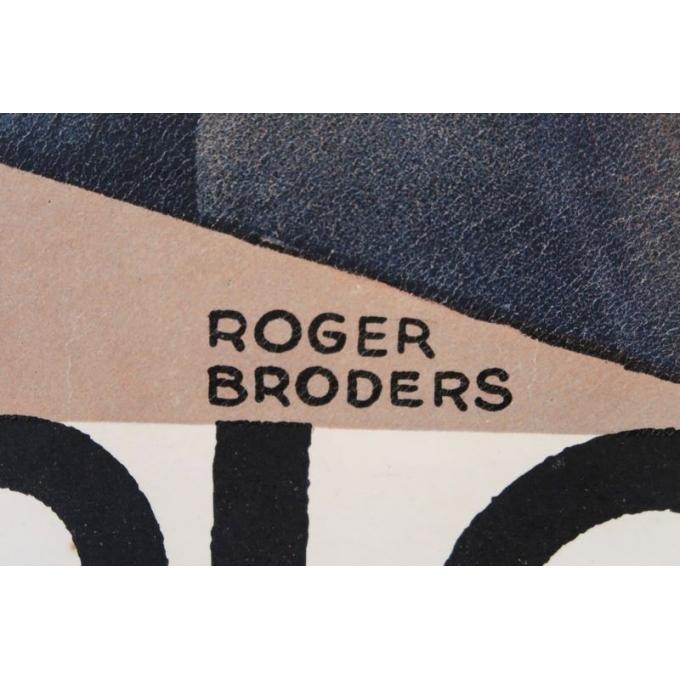Affiche ancienne de tourisme - Roger Broders - 1930 - Monte-Carlo - 100 x 63 cm - Vue 4