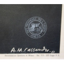 Vintage travel poster - Cassandre - 1951 - Venezia - 24 by 39.3 inches - View 2