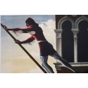 Vintage travel poster - Cassandre - 1951 - Venezia - 24 by 39.3 inches - View 3