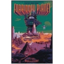 Poster in serigraphy of FORBIDDEN PLANET by Laurent Durieux - signed. Elbé paris.