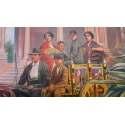 Affiche ancienne originale - José Silbert - 1910 - Palerme - Moullot Marseille - 108.5 par 77.5cm - Vue 2
