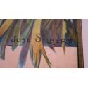 Affiche ancienne originale - José Silbert - 1910 - Palerme - Moullot Marseille - 108.5 par 77.5cm - Vue 3
