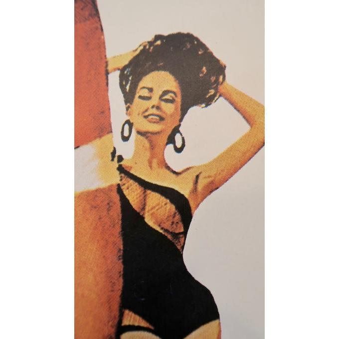 Affiche ancienne de cinéma - James Bond Opération tonnerre - 1965 - 152 par 56.5 cm - Vue 2