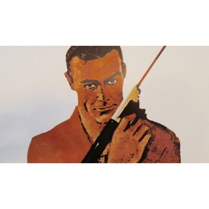 Affiche ancienne de cinéma - James Bond Opération tonnerre - 1965 - 152 par 56.5 cm - Vue 4
