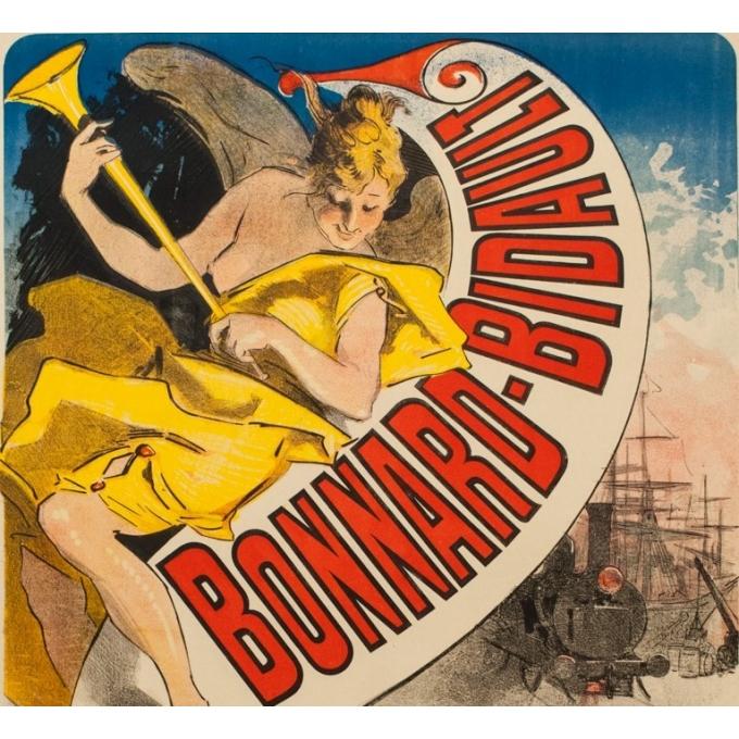 Affiche ancienne publicitaire - Jules Cherret - 1887 - Bonnard-Bidault - 123 par 87.5 cm - Vue 2