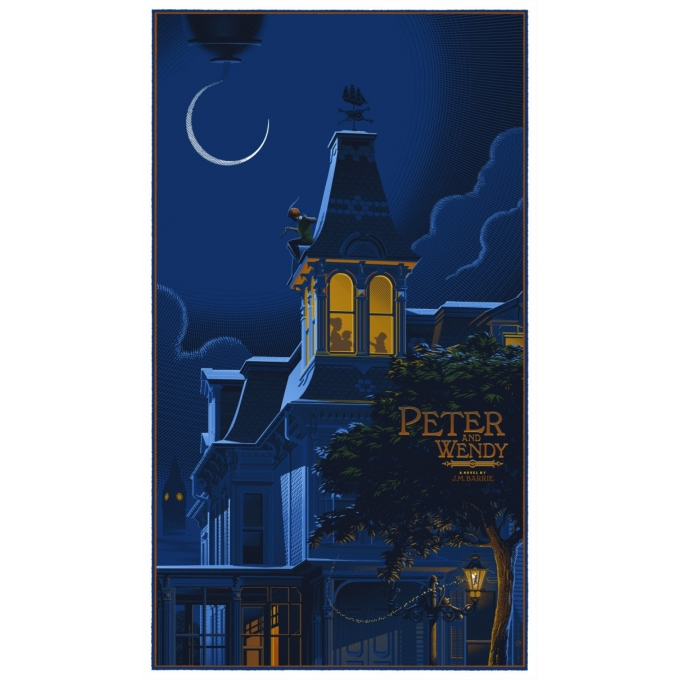Laurent Durieux - Peter and Wendy - Small edition numbered. Elbé Paris.