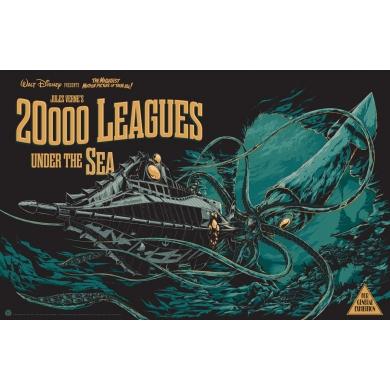 Ken Taylor 20000 Leagues under the sea. Elbé Paris.