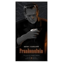 Original poster of FRANKENSTEIN by Laurent Durieux. Elbé Paris.