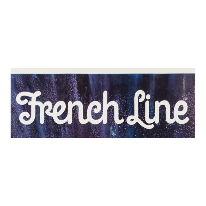 Affiche ancienne voyage - B Peak - 1960 - French Line - 117 par 77.5 cm - Vue 2