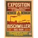 Affiche ancienne Bischwiller 1924 exposition