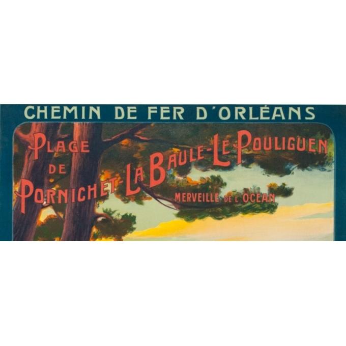 Vintage travel poster - Henri Tolart - 1909 - Le Lioran-Auvergne - 40.7 by 28.9 inches - View 2
