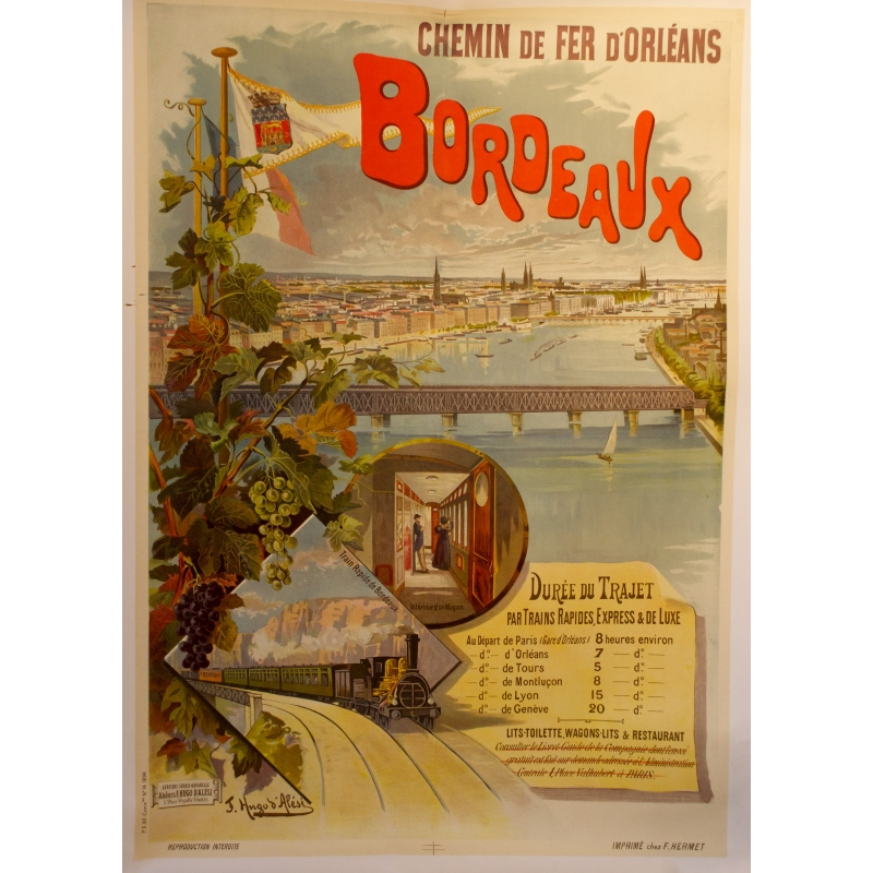 affiche Bordeaux Elbé Paris