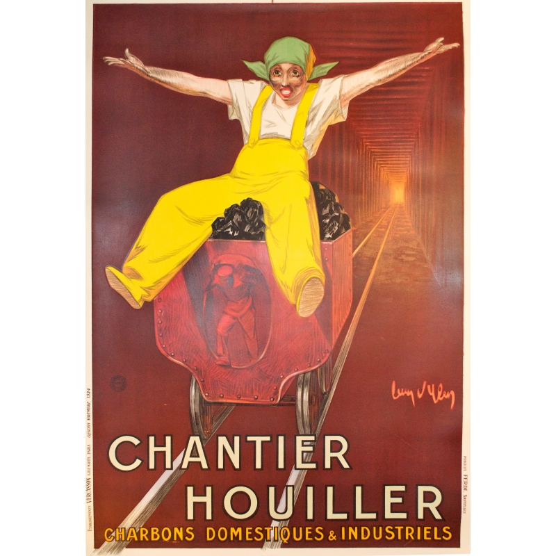 Chantier houiller (Coal Yard) original poster at Elbé Paris