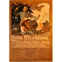 Grande fête d'automne affiche Clarice 1909