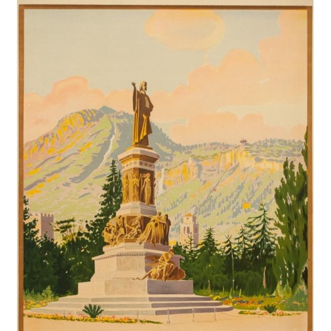 Affiche ancienne - Anonyme  - Circa 1925 - Trento Italie - 102.5 par 62 cm - 2