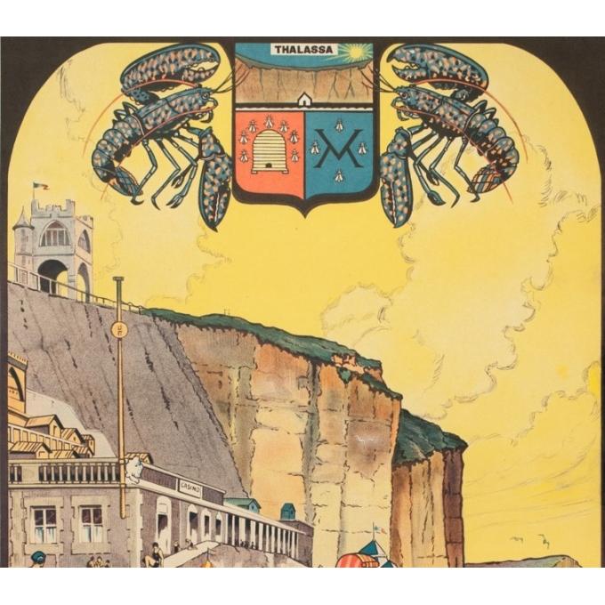 Affiche ancienne de voyage - Ch.Knorr - Circa 1925 - Menils Val - 99 par 63 cm - 2