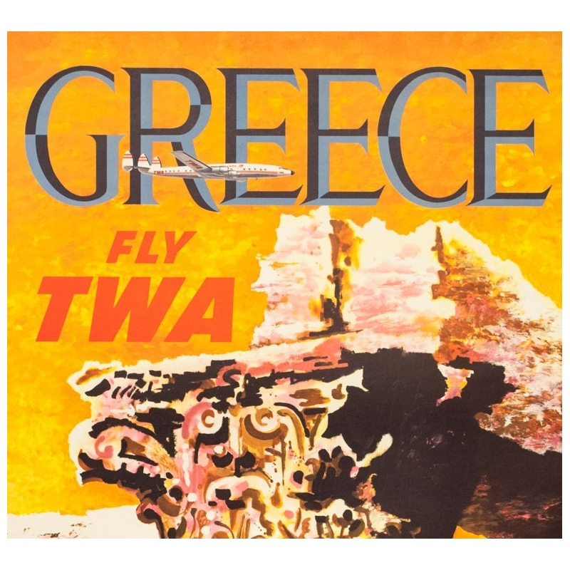 Greece  Grece  Vintage  Travel Poster Various Sizes
