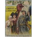 Original french poster of the liberation loan of Alsace Lorraine. Elbé Paris.