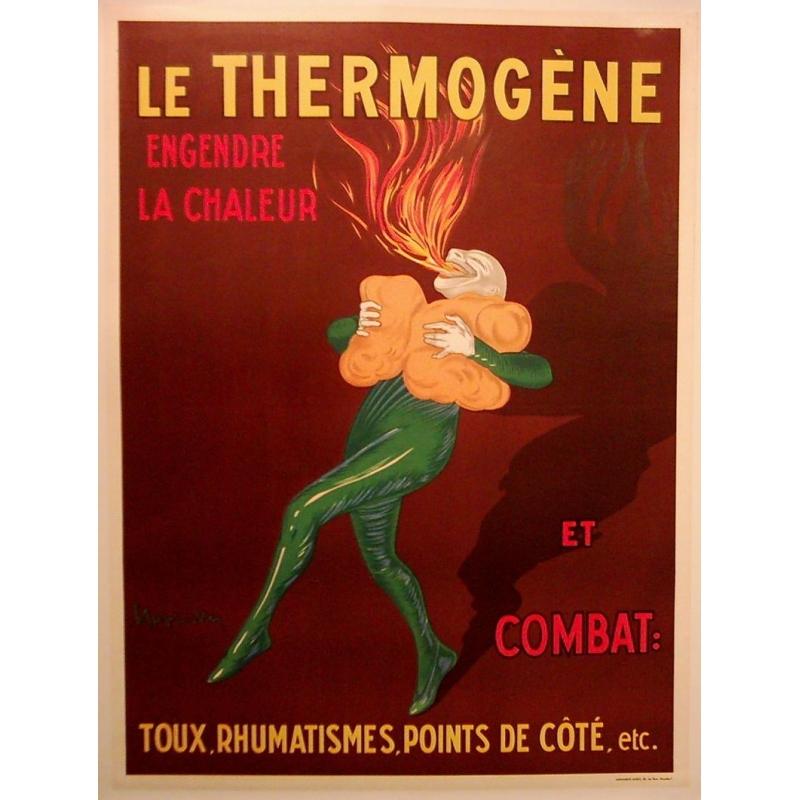 Original french poster Le Thermogène. Elbé Paris.