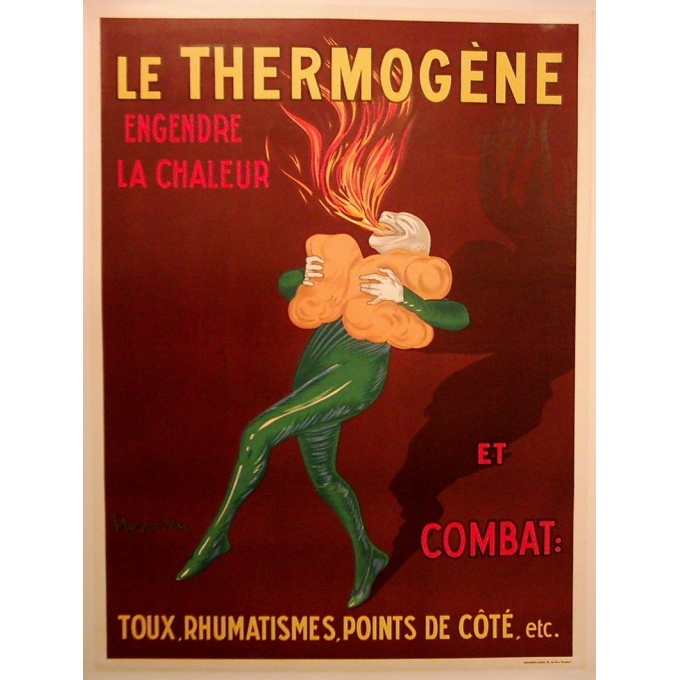 Affiche originale Le Thermogène. Elbé Paris.