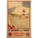 Original french vintage poster Saint Valery en Caux. Elbé Paris.
