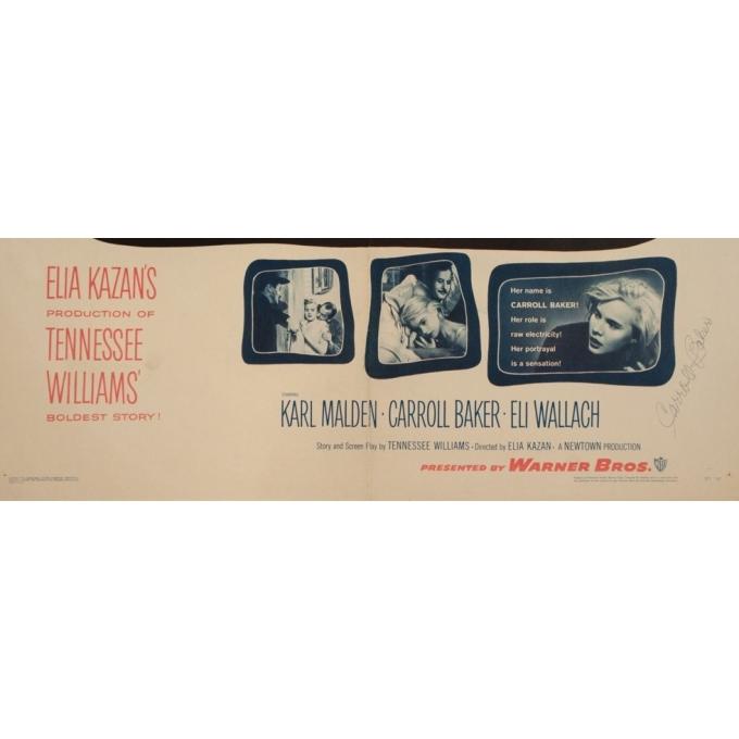 Affiche ancienne de cinéma - Baby Doll - 70 par 55.5 cm - 3