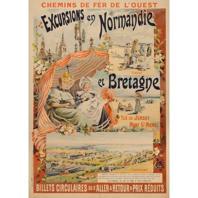 Excursions en Normandie - Duval - 1896