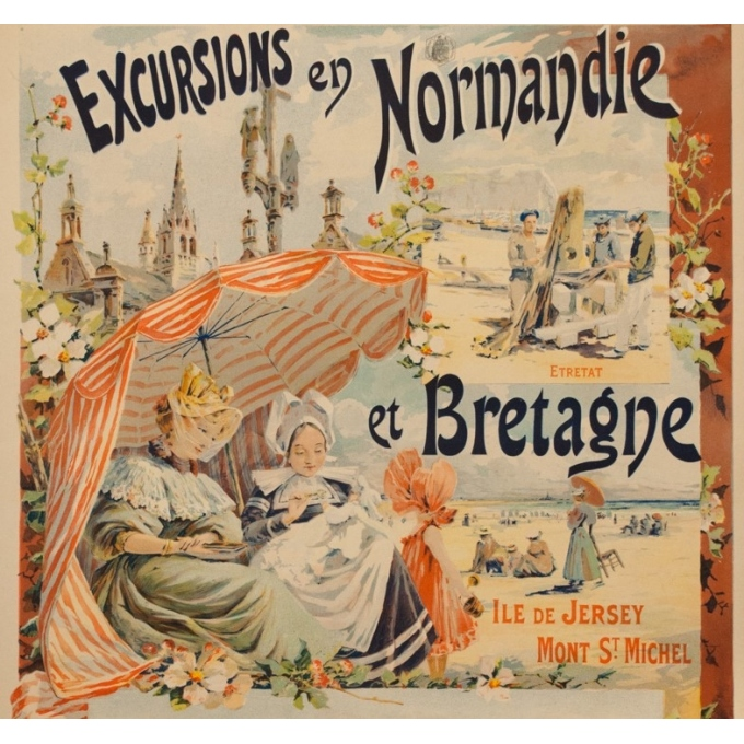 Excursions in Normandy and Brittany - Duval - 1896 - 3