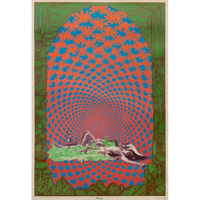 Vintage poster - Sätty - 1967 - Mirage - 35 by 23.6 inches
