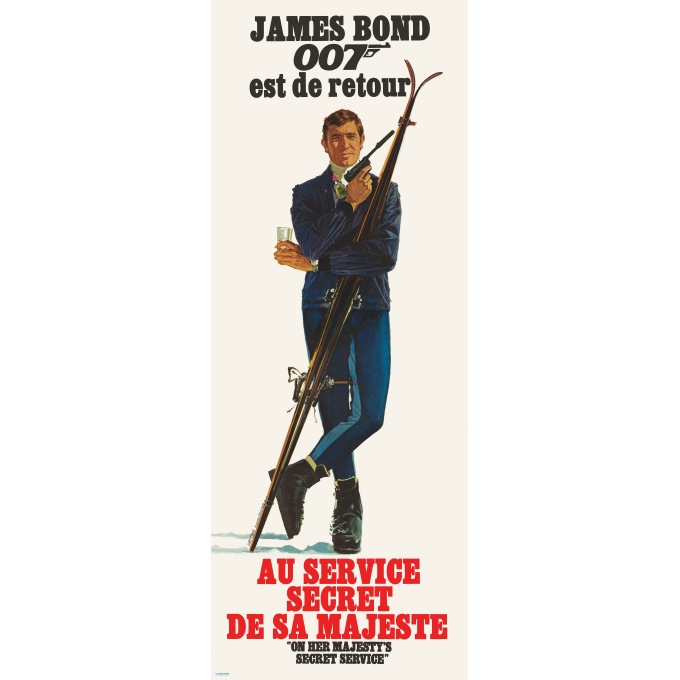 Au service secret de Sa Majesté James Bond 1969