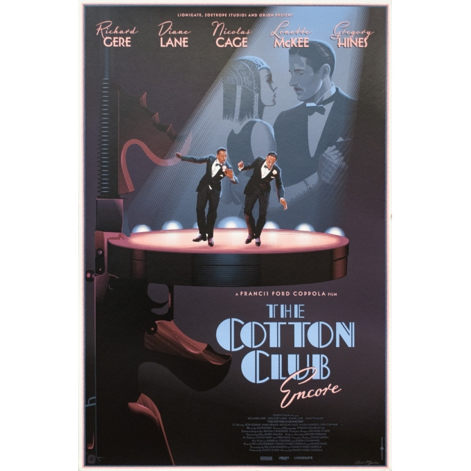 Silkscreen poster - Laurent Durieux - 2019 - The Cotton Club, encore - Regular - Signée - N°15/250 - 36.2 by 24 inches