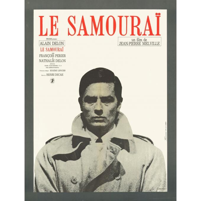 The Samourai Alain Delon