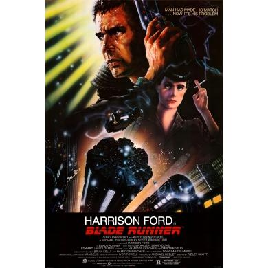 Original vintage movie poster Blade Runner