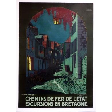 Chemins de fer Bretagne - Geo Dorival