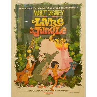 Affiche ancienne du film Le Livre de la Jungle