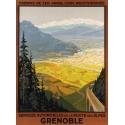 Affiche originale Grenoble - Roger Broders - 1922