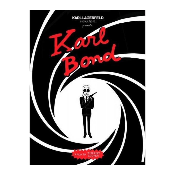 Karl Bond - Tiffany Cooper - Sérigraphie 2015 pour Karl Lagerfeld