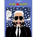 Karl Alone - Tiffany Cooper - Sérigraphie 2015 pour Karl Lagerfeld